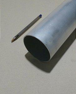 """Tubo redondo de aluminio 2.1/2"""" X 1/16"""" (6,35cm X 1,58mm)"""