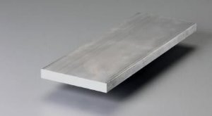 "Barra chata de aluminio 1"" X 3/16"" (2,54cm x 4,76mm)"