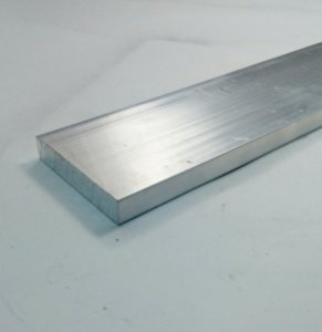 "Barra Chata de Aluminio 2"" x 3/8"" (5,08cm X 9,52mm)"