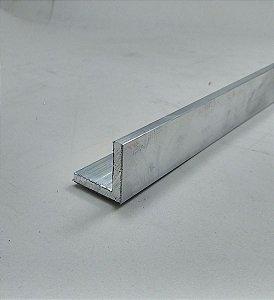 """Cantoneira de Aluminio 1"""" X 1/4"""" (2,54cm X 6,35mm)"""