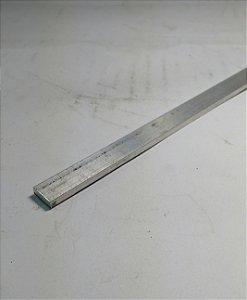 """Barra Chata de Aluminio 3/8"""" X 1/8"""" (9,52mm X 3,17mm) com 1 metro"""