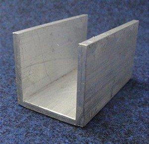 Perfil U De Aluminio 1.1/4 X 1/8 = (3,17cm X 3,17mm)