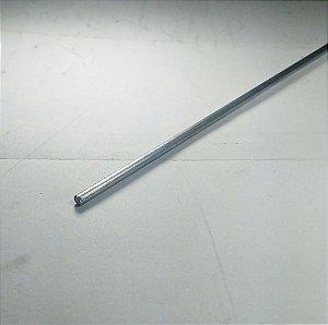 """Vergalhão redondo aluminio 1/8"""" (3,17mm) 1mt"""