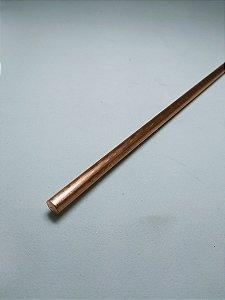 """Vergalhão redondo de cobre 1/4"""" (6,35mm)"""