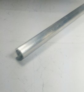 "Tubo Redondo aluminio 1/2"" x 1,00mm = 12,70mm X 1,00mm"
