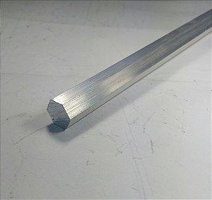 Vergalhao Sextavado Aluminio 1/2 (12,70mm)