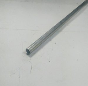 "Tubo Redondo aluminio 1/4"" x 1,00mm = 6,35mm x 1,00mm"