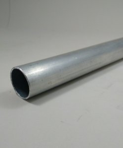 "Tubo Redondo aluminio 1"" x 1,00mm = 25,40mm X 1,00mm"