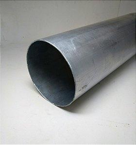 "Tubo redondo alumínio 4"" X 1/16"" (101,60mm X 1,58mm)"