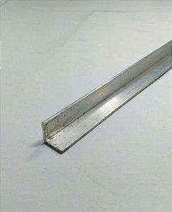 """Cantoneira de alumínio 1/2"""" X 1/16"""" com 1 metro"""