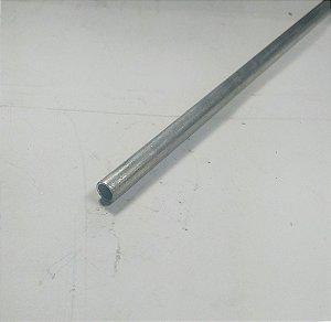 """Tubo Redondo de aluminio 1/4"""" x 1/32"""" = (6,35mm x 0,79mm) com 99cm"""