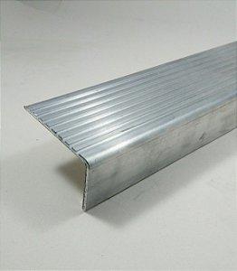 Cantoneira De Aluminio Antiderrapante Para Degrau De Escada