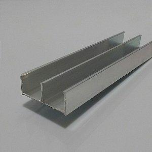TRILHO INFERIOR PARA BOX DE ACRILICIO C/1MT