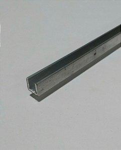 Perfil U De Aluminio 1/2 X 1/16 = (1,27cm X 1,58mm)