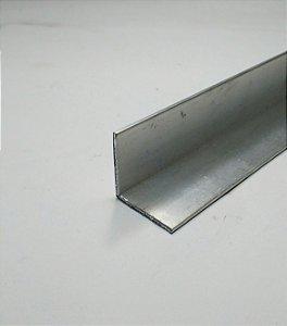 "Cantoneira aluminio 1"" x 1/16"" com 1 metro"