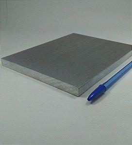 "chapa de aluminio lisa 1/2"" = (12,70mm) =  (1,27cm)"
