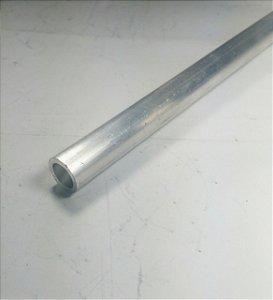 Tubo Redondo de Aluminio 1/2 X 1/16 (9,52 X 1,58mm) com 1 metro