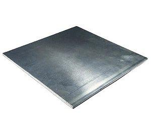 chapa de aluminio lisa 4,00mm