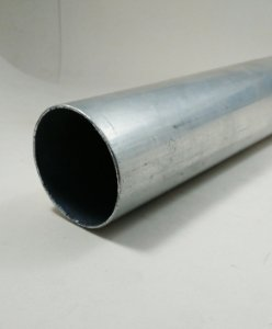 "Tubo redondo aluminio 2"" X 1/16"" = 50,80mm X 1,58mm"
