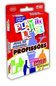 PROFISSÕES- JOGO DE MEMÓRIA EM INGLÊS