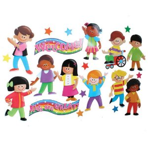 BULLETIN BOARD SET - KIDS ARE GREAT T8135