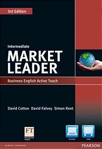 MARKET LEADER INTERMEDIATE  STUDENT BOOK  W/ DVD-ROM 3E