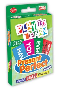 JOGO DE CARTAS PRESENT PERFECT