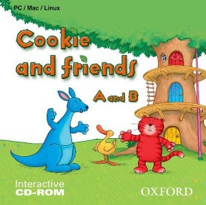 JOGO DIGITAL COOKIE AND FRIENDS  - CD-ROM INTERATIVO
