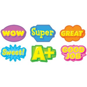 ADESIVOS PARA PROFESSOR: AWESOME WORDS STICKERS