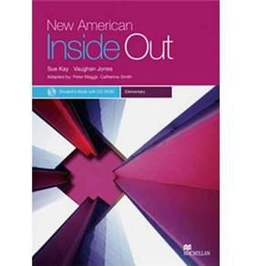 NEW AMERICAN INSIDE OUT ELEMENTARY - STUDENT'S BOOK - WITH CD-ROM