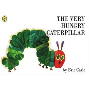 THE VERY HUNGRY CATERPILLAR- LIVRO BROCHURA