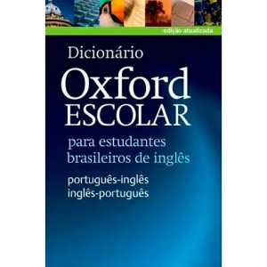 DICIONARIO ESCOLAR OXFORD ING/PORT - PORT/ING