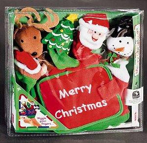 MERRY CHRISTMAS HAND-PUPPET BOOK