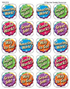 ADESIVO PARA PROFESSOR:GOOD WORK STICKERS (TCR5752)