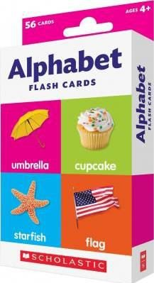 FLASH CARDS ALPHABET SCHOLASTIC