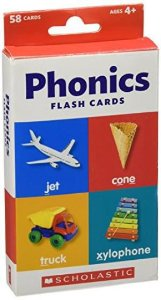 FLASH CARDS PHONICS SCHOLASTIC