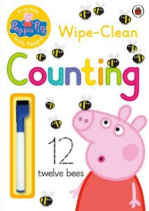 COUNTING - PRACTISE WITH PEPPA PIG- ESCREVA E APAGUE