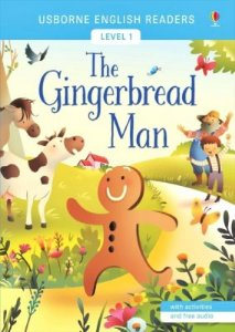THE GINGERBREAD MAN LEVEL 1 WITH ACTIVITIES AND FREE AUDIO