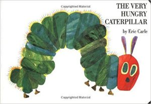 THE VERY HUNGRY CATERPILLAR- LIVRO