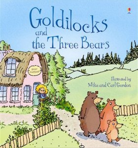 GOLDILOCKS AND THE THREE BEARS - USBORNE