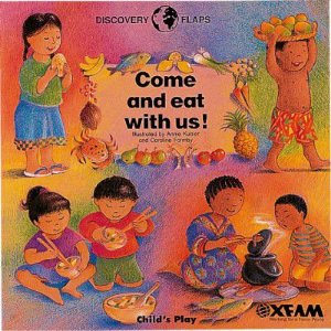 COME AND EAT WITH US! FLAP BOOK