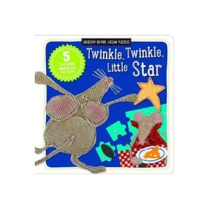 TWINKLE, TWINKLE, LITTLE STAR - NURSERY RHYME JIGSAW PUZZLE