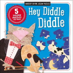 HEY DIDDLE DIDDLE - NURSERY RHYME JIGSAW PUZZLES