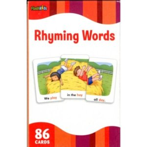 RHYMING WORDS - FLASH KIDS FLASH CARDS