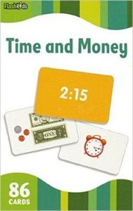 TIME & MONEY - FLASH CARDS