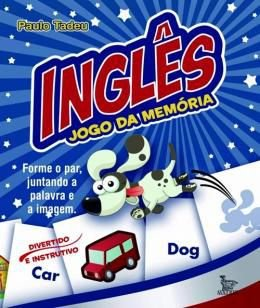 JOGO DA MEMORIA - INGLES