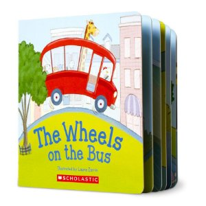 THE WHEELS ON THE BUS- SCHOLASTIC