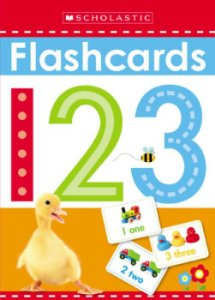 1 2 3 FLASHCARDS SCHOLASTIC