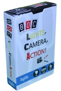 JOGO DE CARTAS- LIGHTS CAMERA ACTION