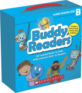 BUDDY READERS- LEVEL B - 20 LEVELED BOOKS FOR LITTLE LEARNERS